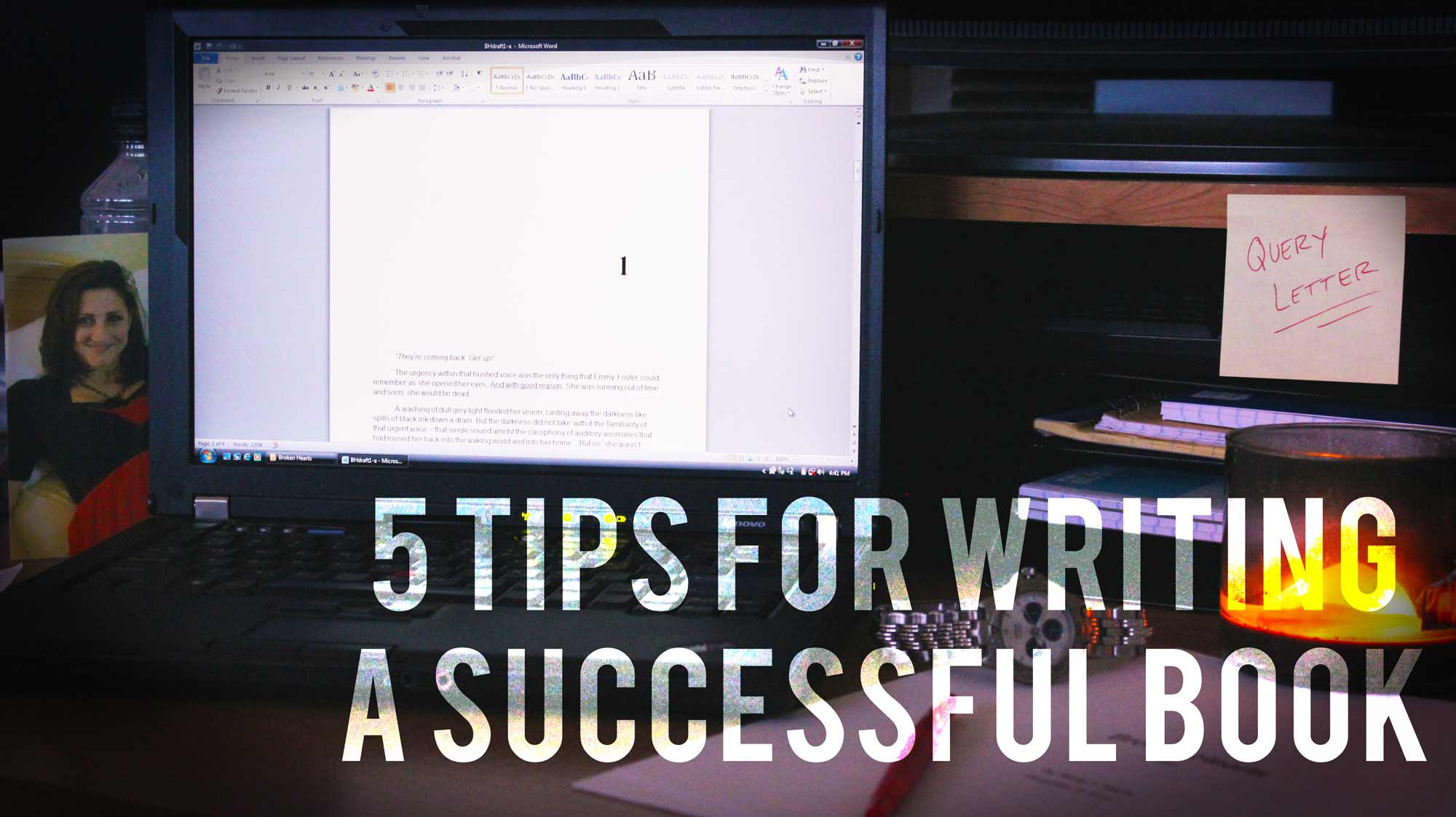 5 Tips For Writing A Successful Book